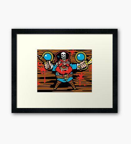Captain Redbeard Framed Print