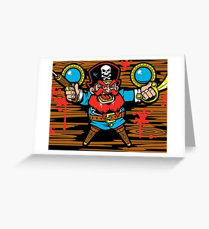 Captain Redbeard Greeting Card