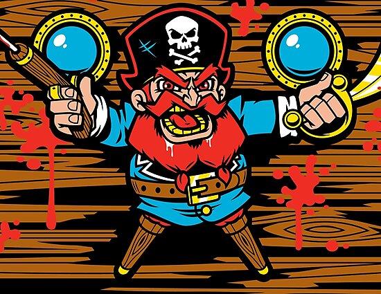 Captain Redbeard by harebrained