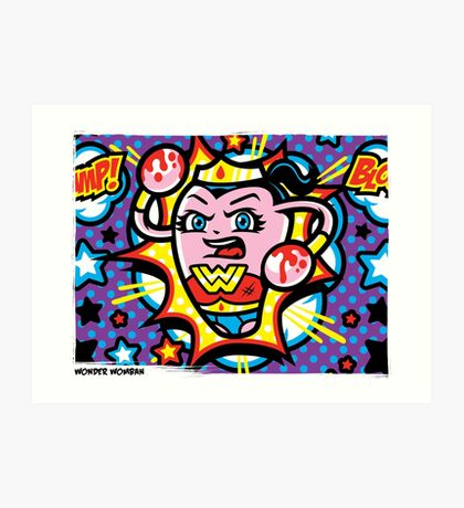 Wonder Womban Art Print