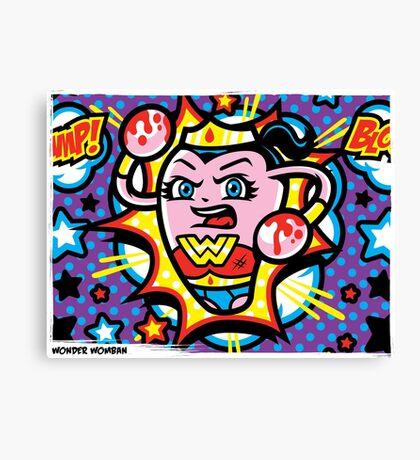 Wonder Womban Canvas Print