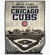 cubs chicago Poster