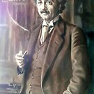 portrait of a man by Hidemi Tada