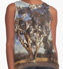 Australian Windswept Tree 01 Sleeveless Top