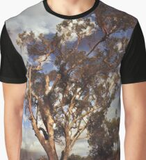 Australian Windswept Tree 01 Graphic T-Shirt