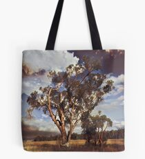 Australian Windswept Tree 01 Tote Bag
