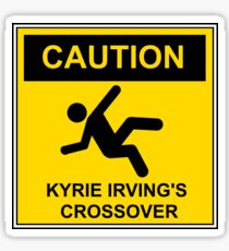 CAUTION Kyrie Irving's Crossover Sticker