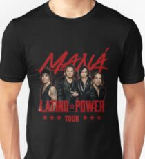 TSHIRT MUSIC TYLE LATINO POWER TOUR 2017 POSTER BLACK T-Shirt