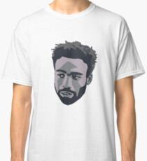 Donald Glover Black & White Design Classic T-Shirt