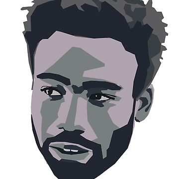 Donald Glover Black & White Design by KnightsOfShame