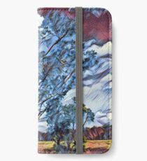 Australian Windswept Tree 02 iPhone Wallet/Case/Skin
