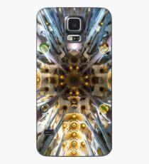 Funda/vinilo para Samsung Galaxy El techo de la obra maestra de Gaudí Sagrada Familia, Barcelona