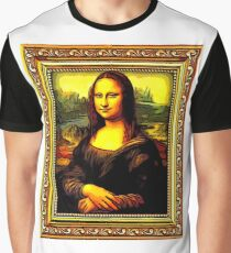 mona lisa Graphic T-Shirt