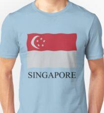 Singapore flag Unisex T-Shirt