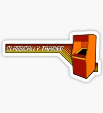 Classically Trained Video Gamer Sticker
