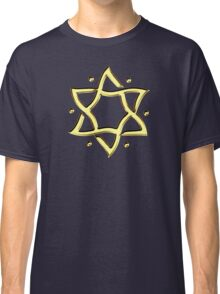 Star of David, ✡, Hexagram, Israel, Judaism,  Classic T-Shirt