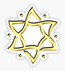 Star of David, ✡, Hexagram, Israel, Judaism,  Sticker