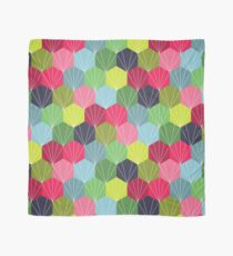 Geometric Hexie Honeycomb Colorful Scarf