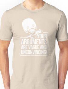 Vague And Unconvincing Unisex T-Shirt