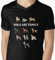 Dogs are family. I love all dogs - for dog lovers. T-Shirt