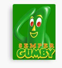 Semper Gumby Canvas Print