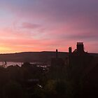 Sunset at Robin Hoods Bay, North Yorkshire, UK by GeorgeOne