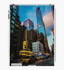 Broadway, New York, USA iPad Case/Skin