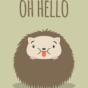 Oh hello - Card by imjustmike