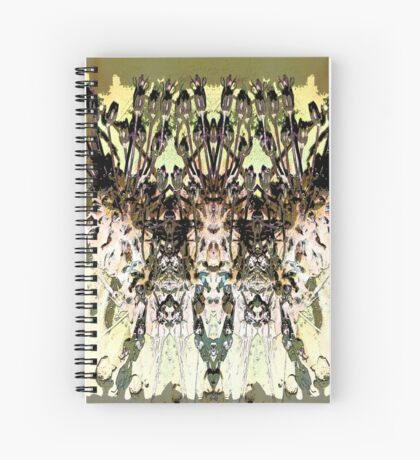 Abstract Floral Art ll Spiral Notebook