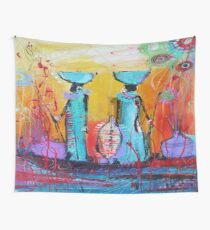 African Print Wall Tapestry