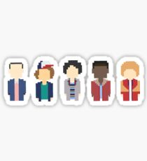 Stranger Things Pixel Sticker
