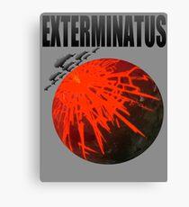 Exterminatus Title Canvas Print