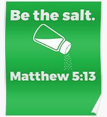 The Salt Matthew  Poster