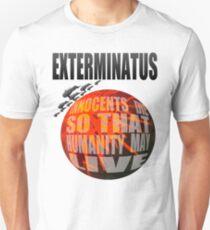 Camiseta ajustada Exterminatus completo