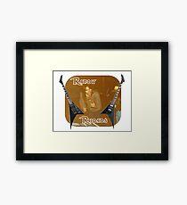 Randy Rhoades Framed Print