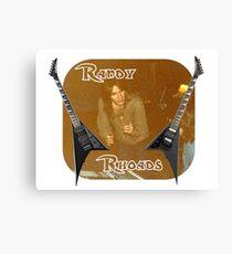Randy Rhoades Canvas Print