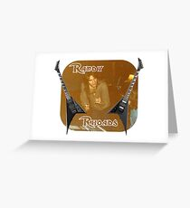 Randy Rhoades Greeting Card