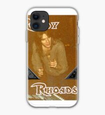 Randy Rhoades iPhone Case