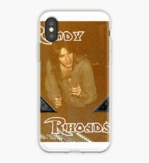 Randy Rhoades iPhone Case