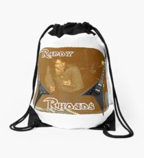 Randy Rhoades Drawstring Bag