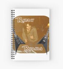 Randy Rhoades Spiral Notebook
