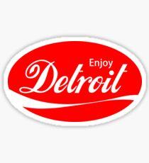 Enjoy Detroit Sticker