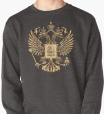 Gold Russian Coat of Arms Pullover