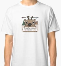 Dull-Nosed Reindeer Classic T-Shirt