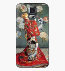 Madame Monet en costume japonais (with ukulele) Case/Skin for Samsung Galaxy