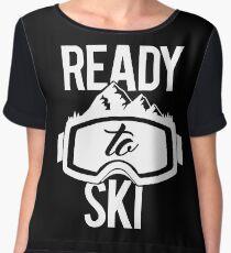Ready To Ski Chiffon Top