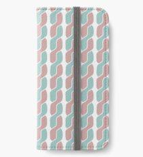 simple retro pattern iPhone Wallet/Case/Skin