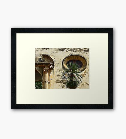 The Eye Of The Ox...................................Majorca Framed Print