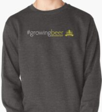 Growing Beer Light Text Pullover