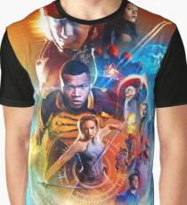 Legends of Tomorrow TV Series Graphic T-Shirt